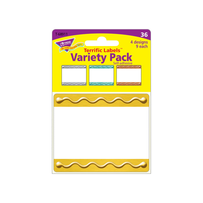 T68911 Name Tags Metal