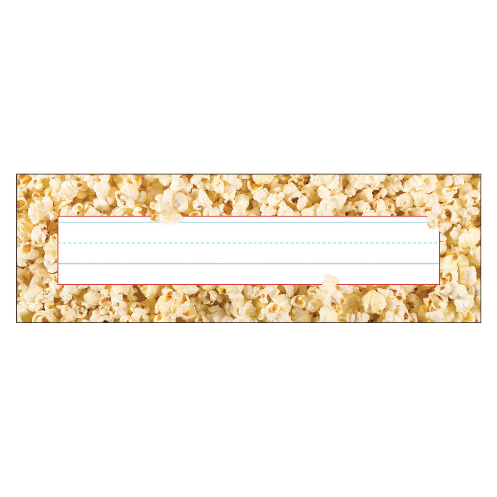 T69206 Name Plate Popcorn Time