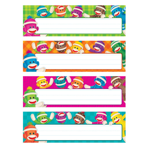 T69912 Name Plate Sock Monkey Variety Pack