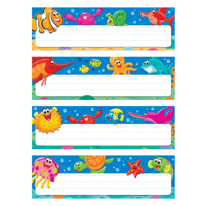 T69948 Name Plate Sea Life Variety Pack