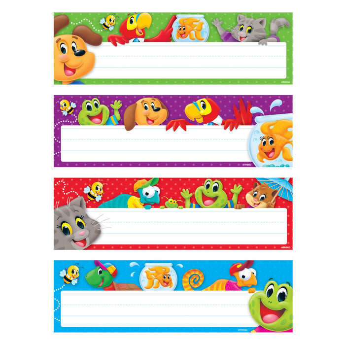 T69958 Name Plate Playtime Pets Variety Pack