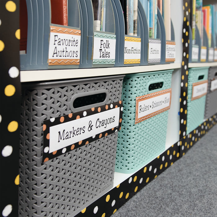 I ♥ Metal™ Dots & Embossed Desk Toppers® Name Plates Variety Pack