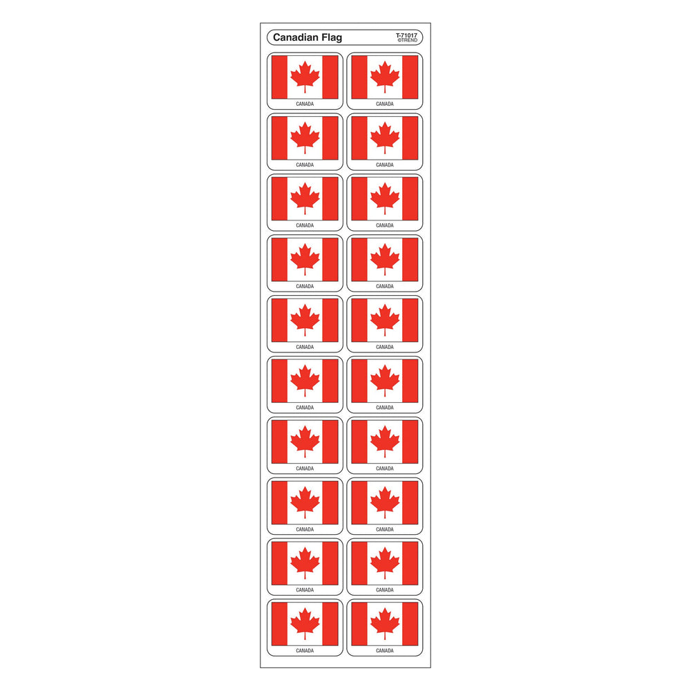 T71017 Stickers Canadian Flag