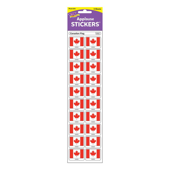 T71017 Stickers Canadian Flag Package