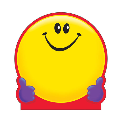 T72013 Note Pad Smiley Face