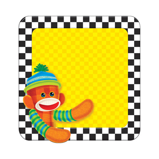 T72100 Note Pad Sock Monkey