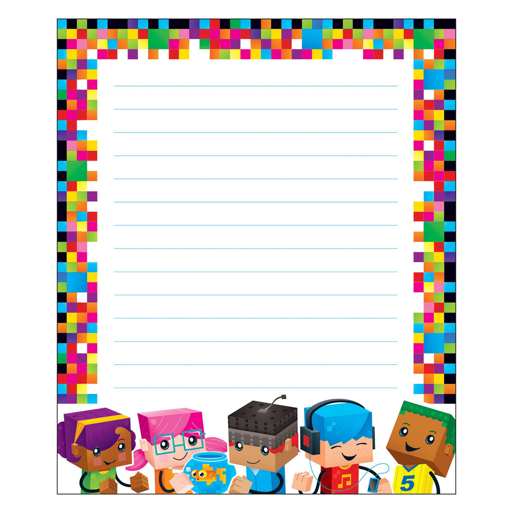 T72369 Note Pad Block Star Kids