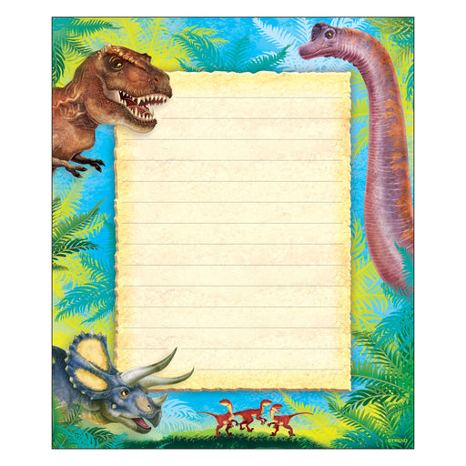 T72385 Note Pad Discovering Dinosaurs