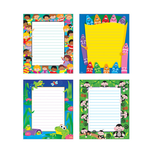 T72904 Note Pads Combo Pack School Time