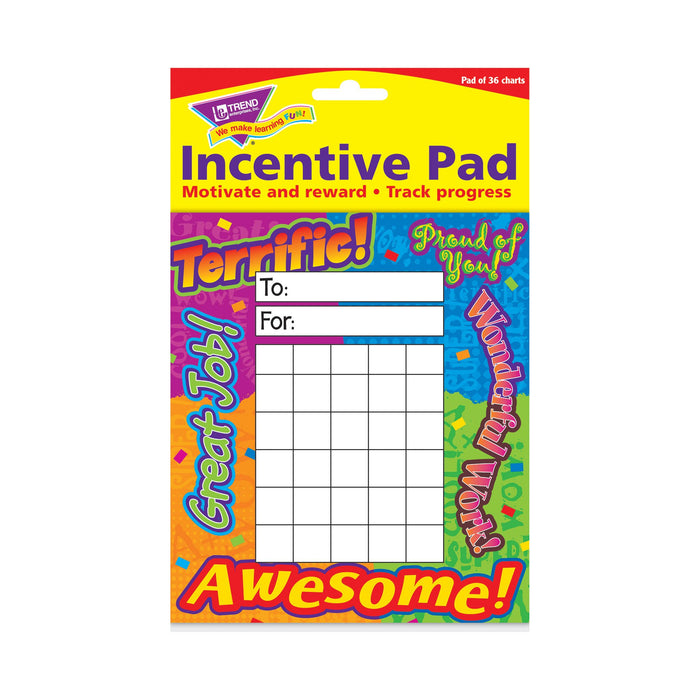 T73003 Incentive Pad Reward Words Package