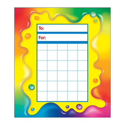 T73023 Incentive Pad Rainbow Gel