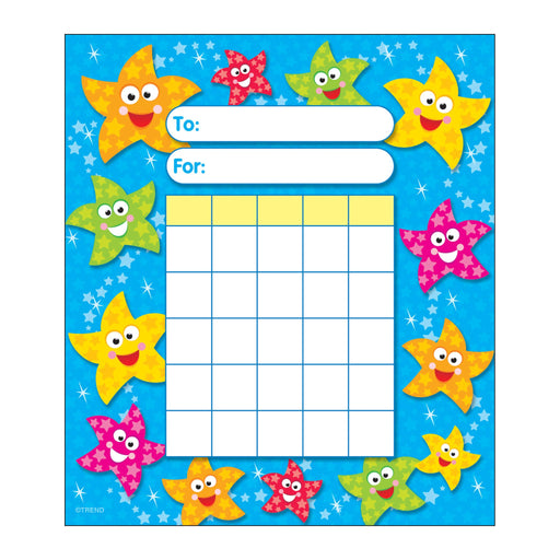 T73026 Incentive Pad Dancing Stars