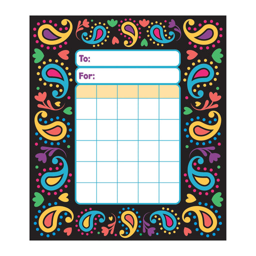 T73028 Incentive Pad Perfectly Paisley