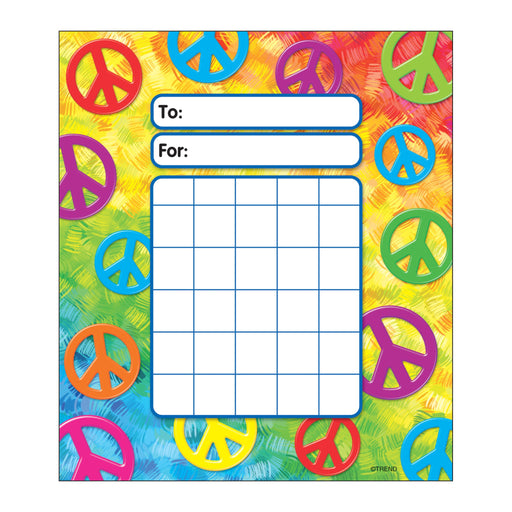 T73031 Incentive Pad Peace Signs