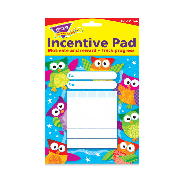 T73034 Incentive Pad Owl Stars Package
