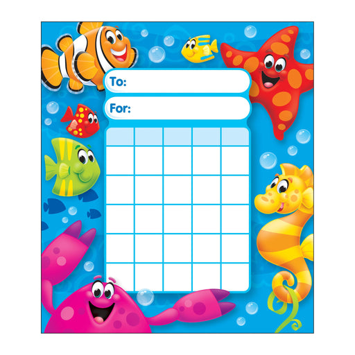 T73065 Incentive Pad Sea Life