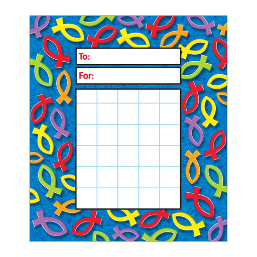 T73070 Incentive Pad Christian Fish