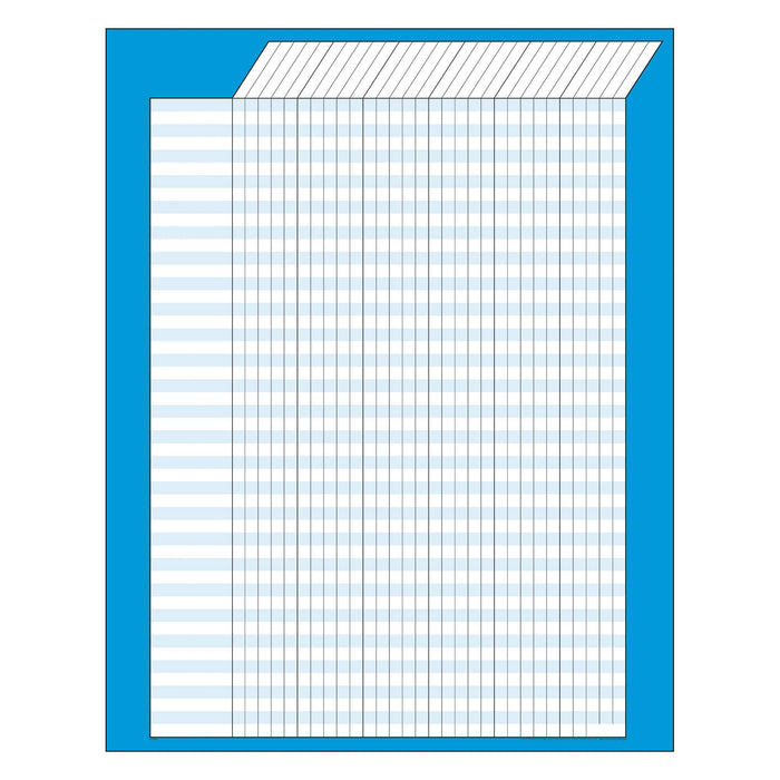 T73204 Incentive Chart Blue Vertical