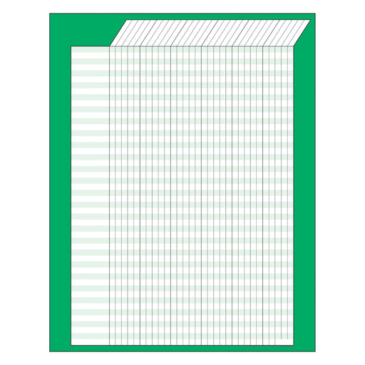 T73205 Incentive Chart Green Vertical
