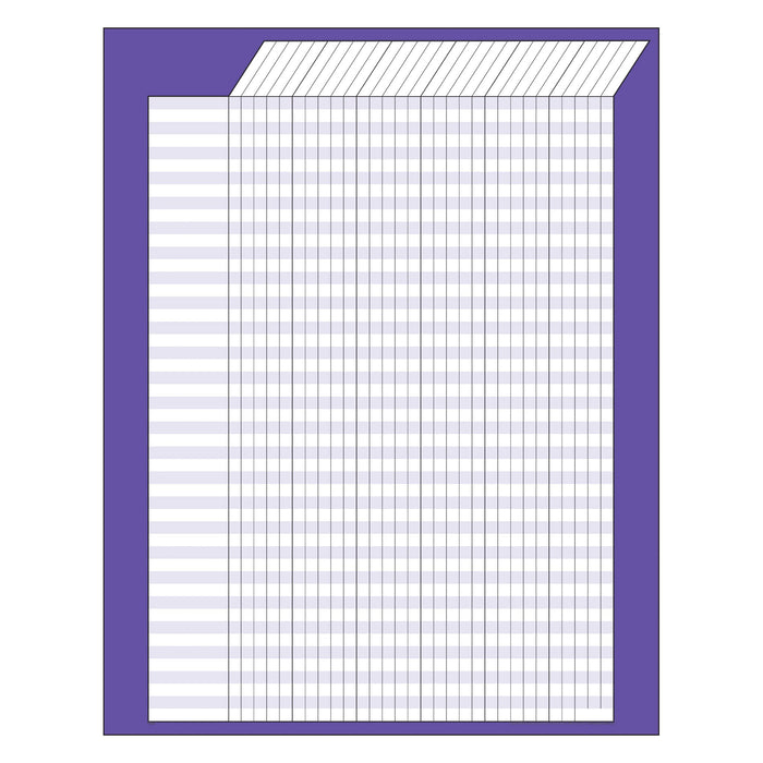 T73206 Incentive Chart Purple Vertical