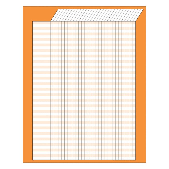 T73207 Incentive Chart Orange Vertical