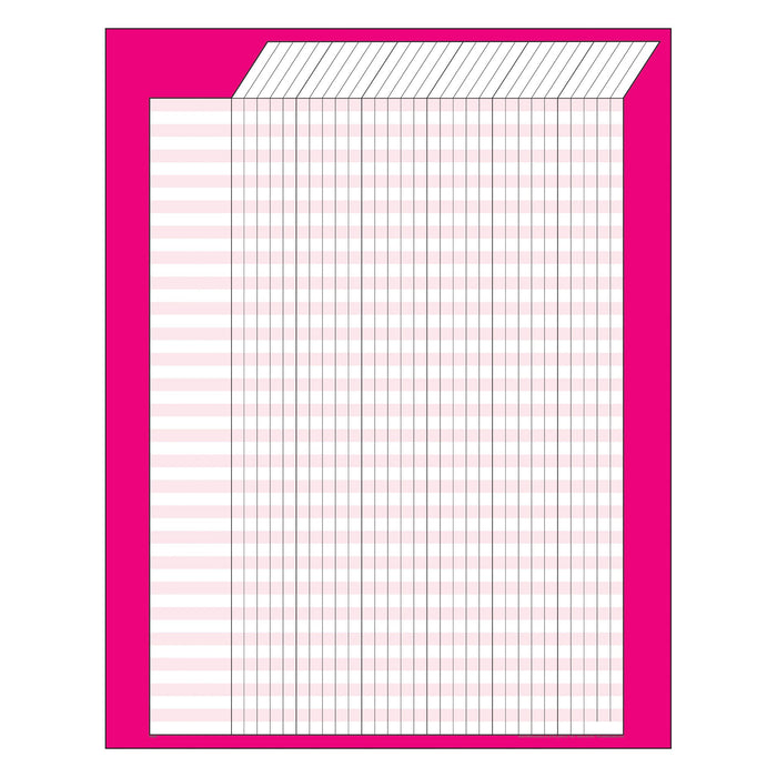 T73208 Incentive Chart Pink Vertical