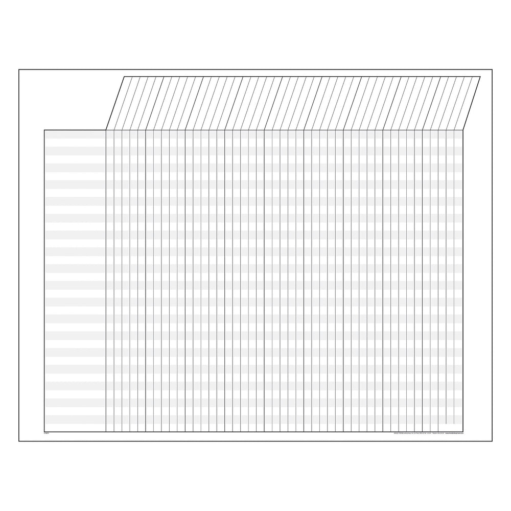 T73211 Incentive Chart White Horizontal
