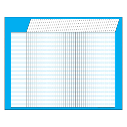 T73212 Incentive Chart Blue Horizontal