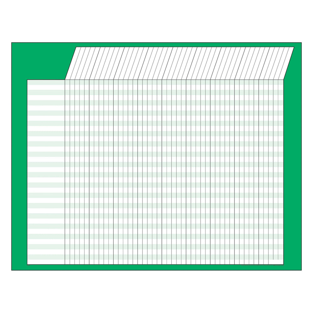 T73213 Incentive Chart Green Horizontal