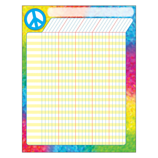 T73365 Incentive Chart Peace Sign Vertical