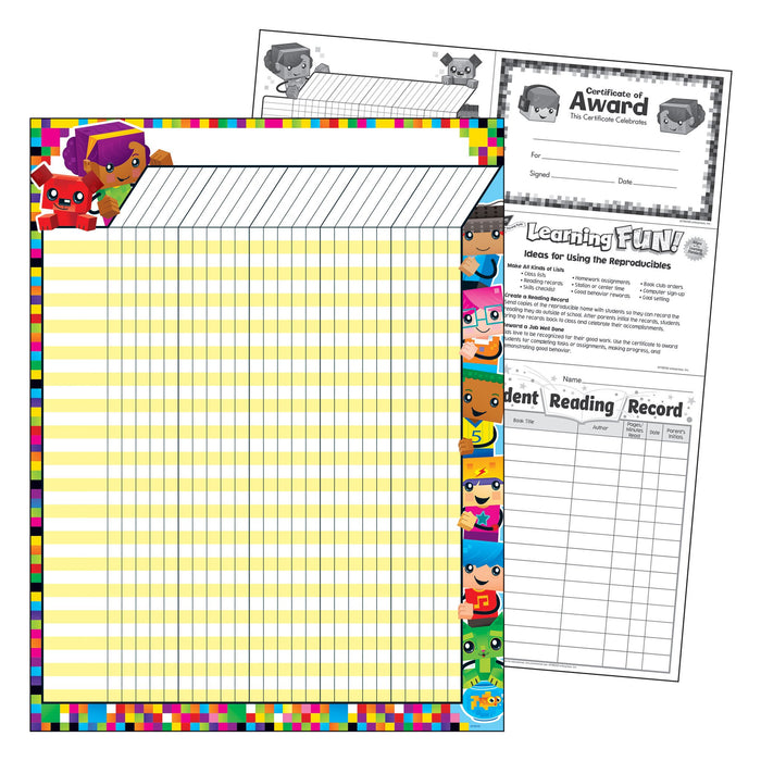 T73390 Incentive Chart Block Star Kids