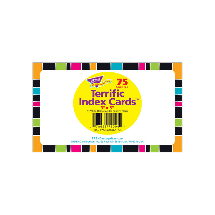 T75004 Index Cards Groovy Package