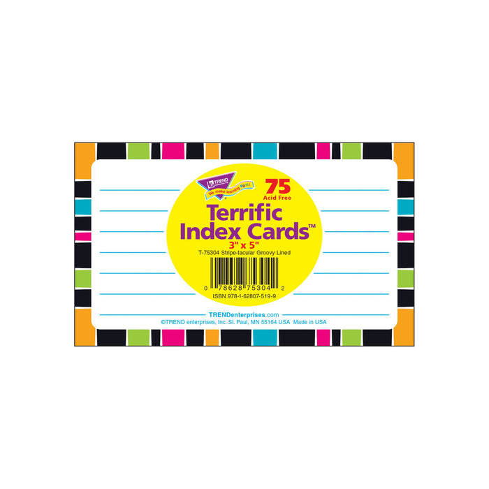 T75304 Index Cards Groovy Package