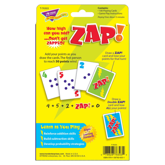 T76303 Game Zap Box Back