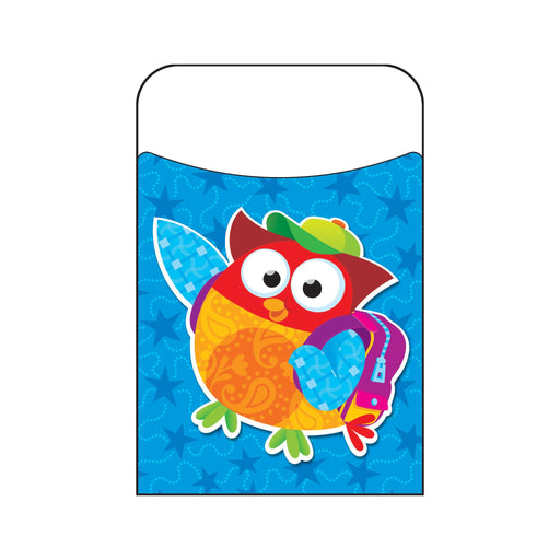 T77003 Library Pockets Owl Star