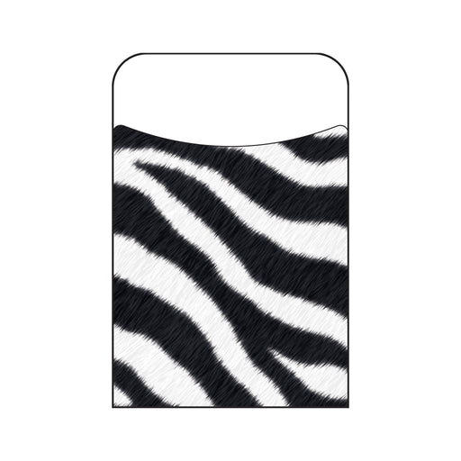 T77014 Library Pockets Zebra