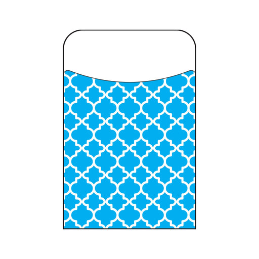 T77017 Library Pockets Moroccan Blue