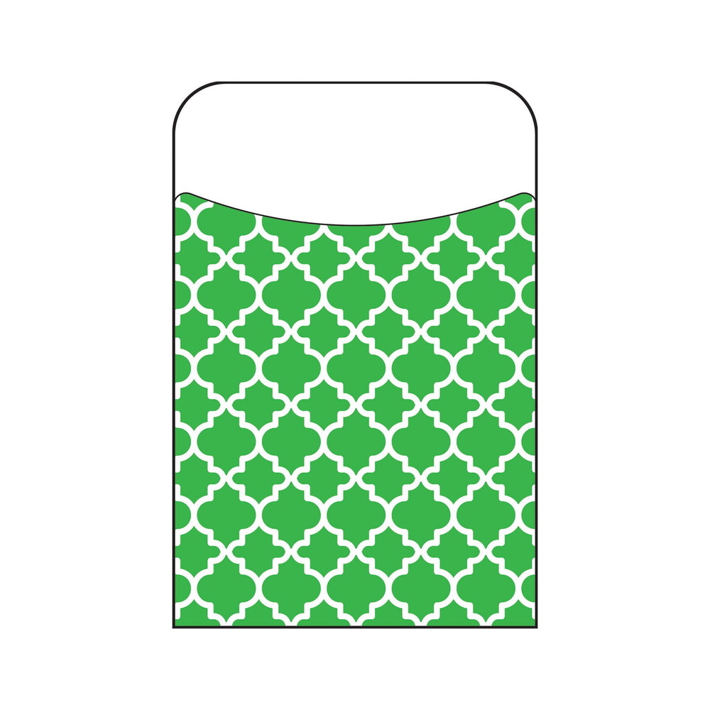 T77018 Library Pockets Moroccan Green