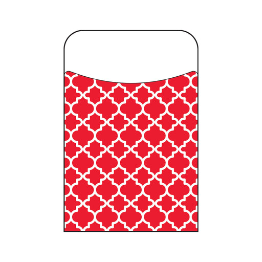 T77019 Library Pockets Moroccan Red