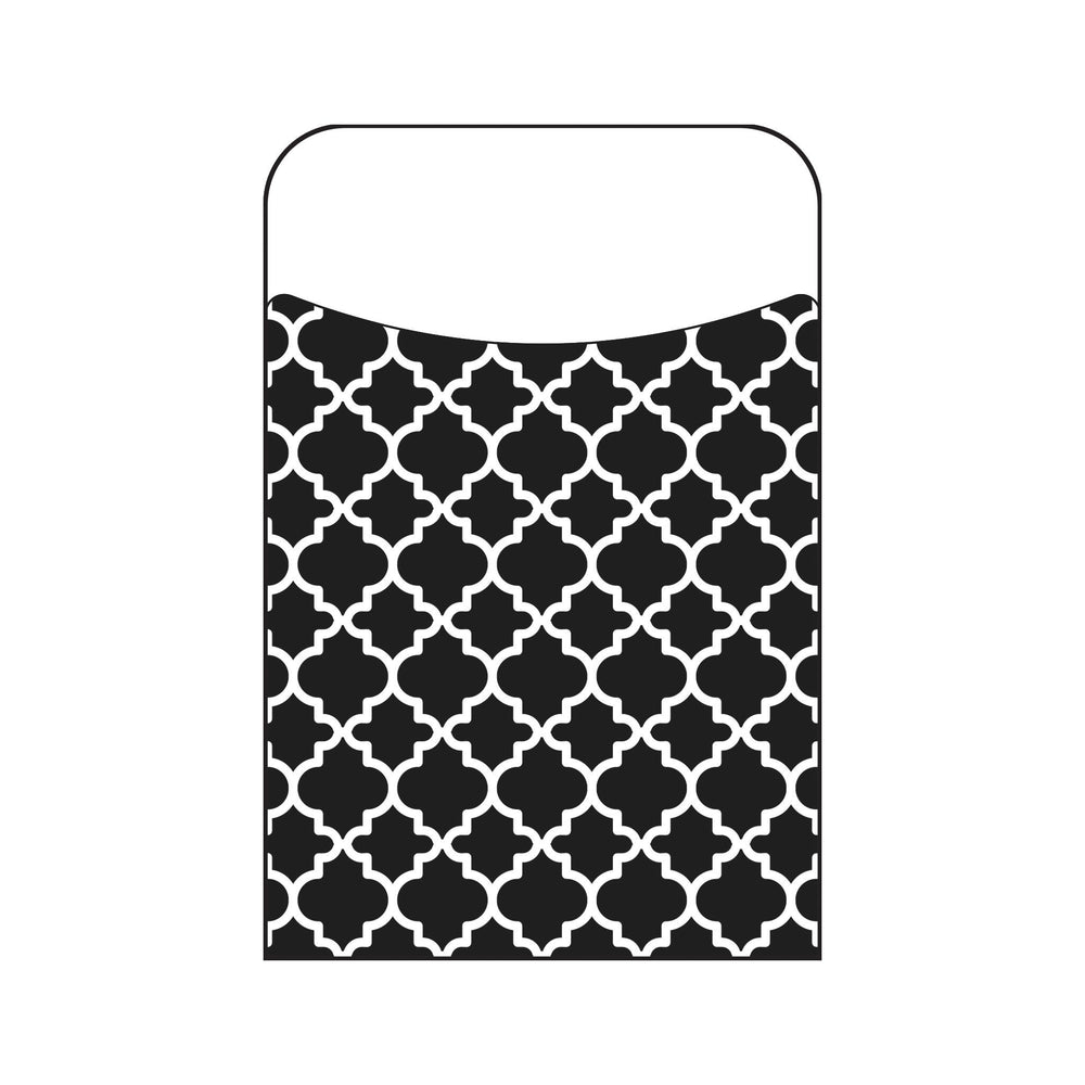T77020 Library Pockets Moroccan Black