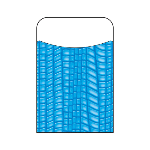 T77021 Library Pockets Reptile Blue