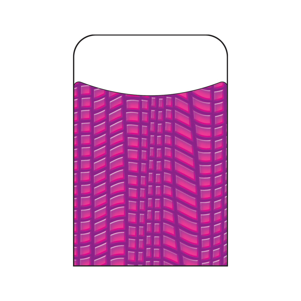 T77029 Library Pockets Reptile Purple