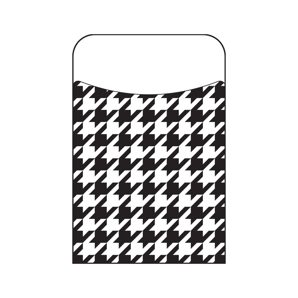 T77031 Library Pockets Houndstooth