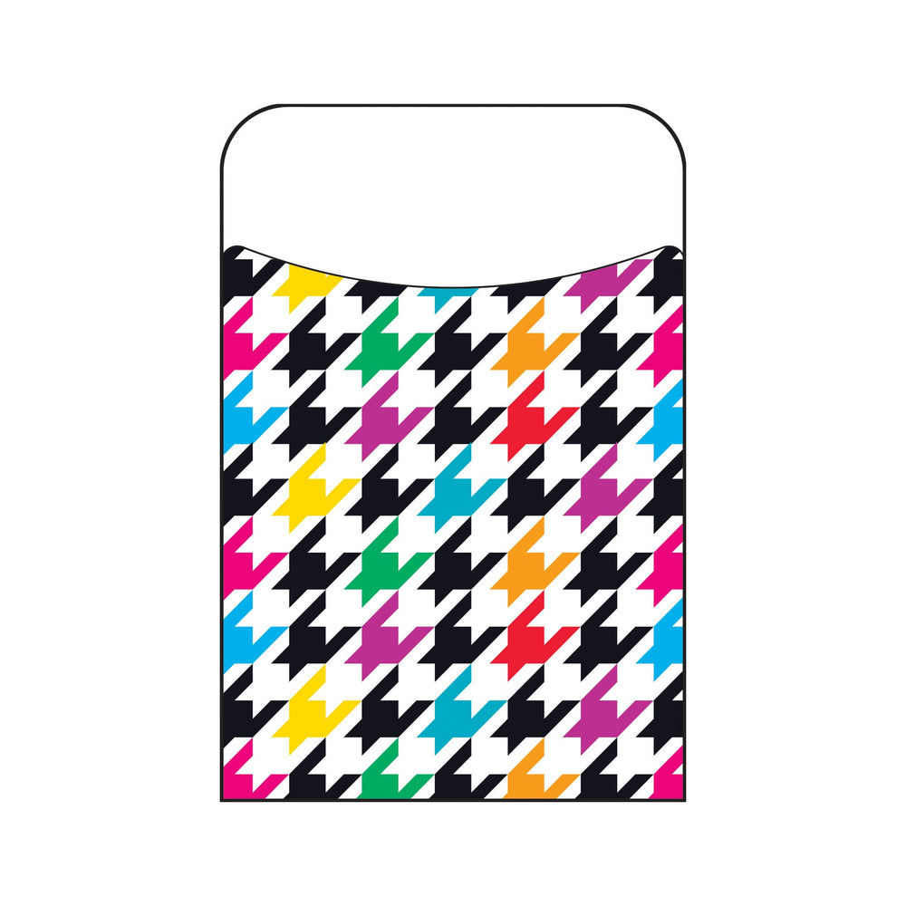 T77032 Library Pockets Houndstooth Color