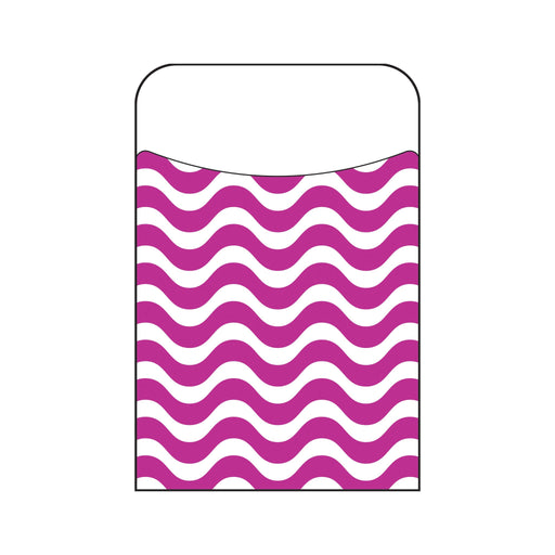 T77040 Library Pockets Wavy Purple