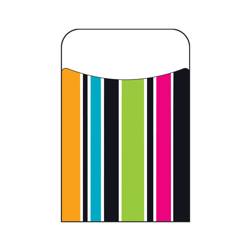 T77048 Library Pockets Stripe Groovy