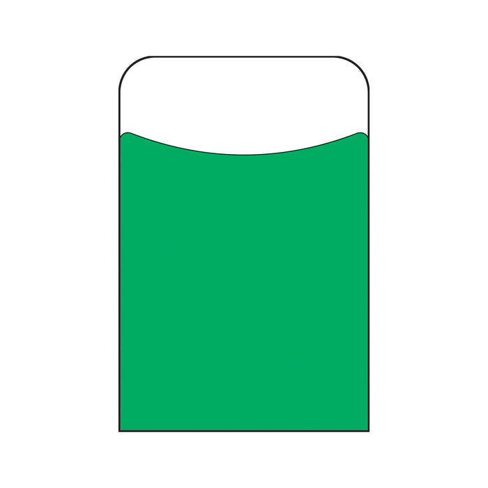 T77302 Library Pockets Green