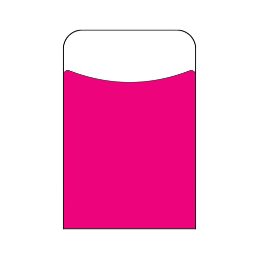 T77305 Library Pockets Pink