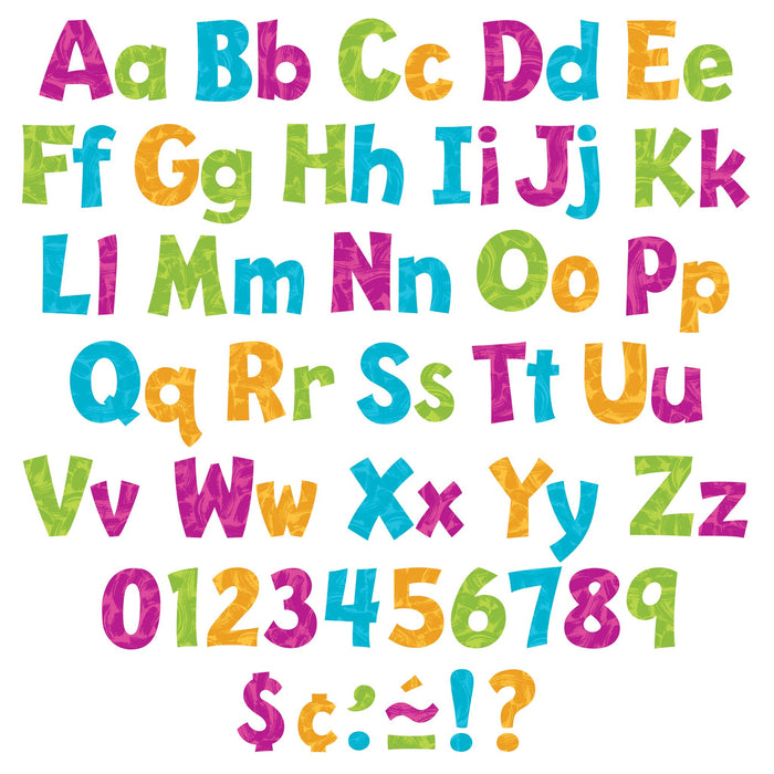 T79760 Letters 4 Inch Playful Harmony