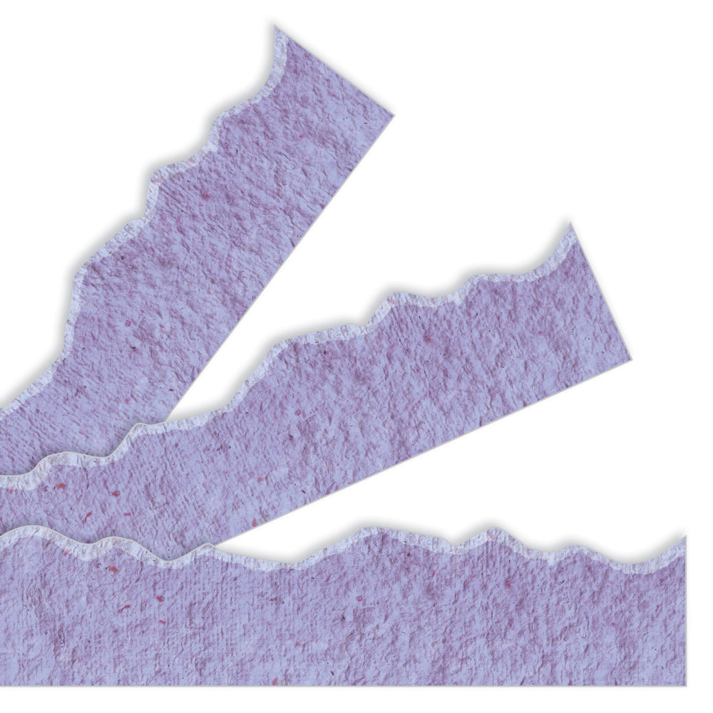 T80035 Border Trimmer Torn Paper Purple